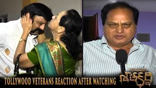 Tollywood Veterans Reaction After Watching Gautamiputra Satakarni - Nandamuri Balarishna, Krish