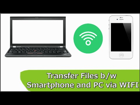 How to Send and Receive Files from Phone to PC/Laptop via Wifi