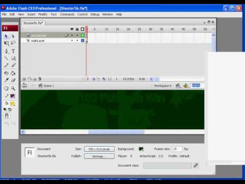 Flash Shooter Game 18 - Actionscript 2.0