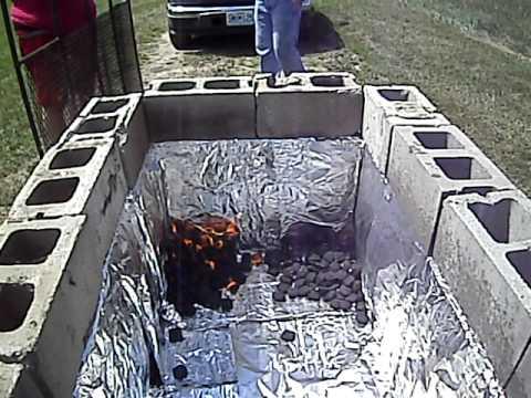 Brick oven grill