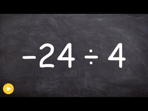 Finding the quotient of two numbers