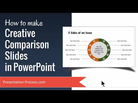 How to make Creative Comparison Slides in PowerPoint