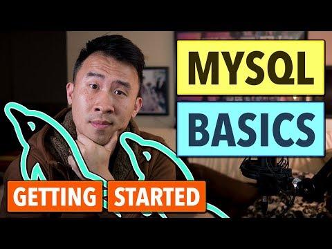 MySQL Basics & How to Get Started - SQL Select, Insert, Update, Delete