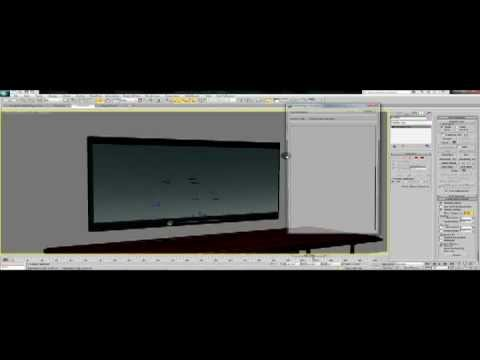 3DS MAX Tutorial using a video as a texture