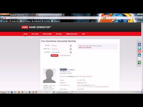 How To Make A Hotmail Account - 2012