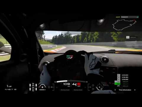 Gran Turismo Sport Closed Beta - Nurburgring Hot Lap