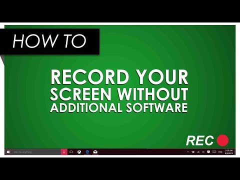 How to Record Your Screen in Windows 10 Using the Xbox App