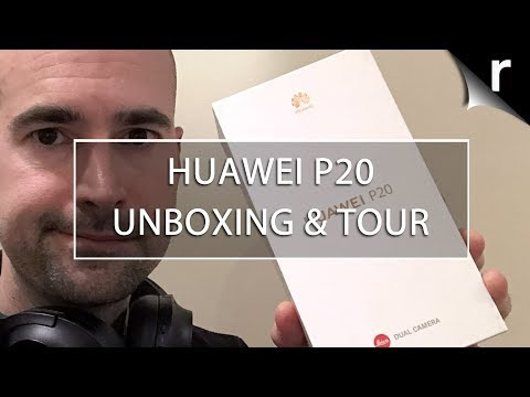Huawei P20 Unboxing & Tour