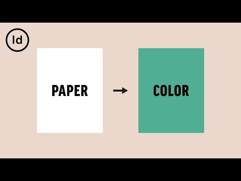 How to Change the Background Color | InDesign Tutorial