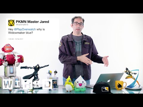 Blizzard's Jeff Kaplan Answers Overwatch Questions From Twitter | Tech Support | WIRED