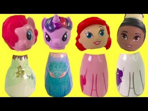Disney Princesses My Little Pony Help Find Missing Toy Surprise