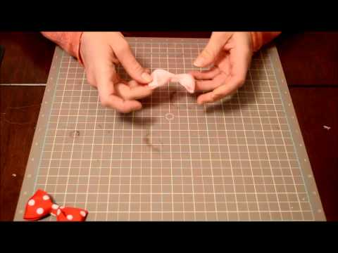 How To Make an Easy No Sew Ribbon Bow