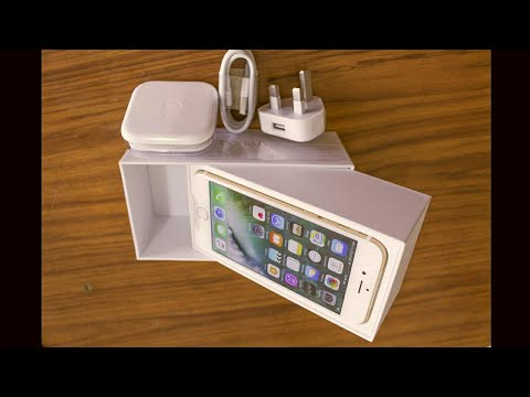 Apple iphone 6 Gold 32 Gb New price 2017(Unboxing)