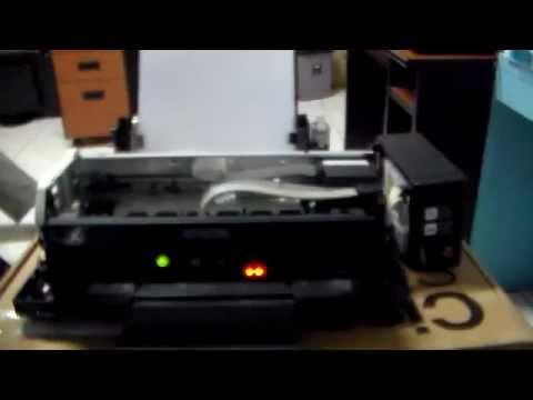 Service Printer Epson L210 kertas tarik banyak