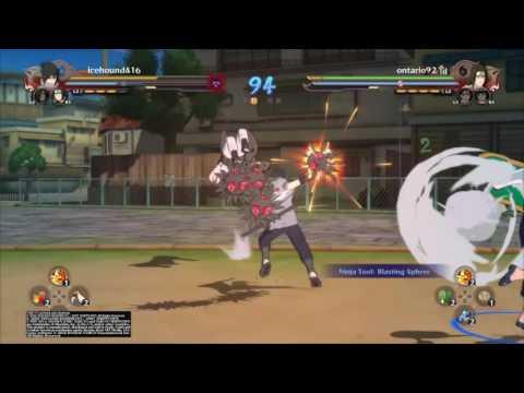 Naruto Ninja Storm 4 - Online Team Battle #1