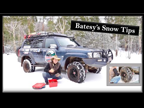 Tim Bates 4WD Adventures - Snow Safety Tips