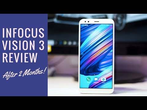 Infocus Vision 3 Review - After 2 Months! Cheapest 18:9 Display Phone?