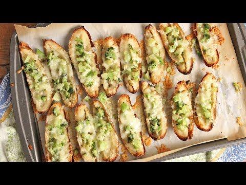 Cheesy Broccoli Potato Skins   Episode 1203