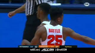 Pittsburgh vs Syracuse College Basketball Condensed Game 2018