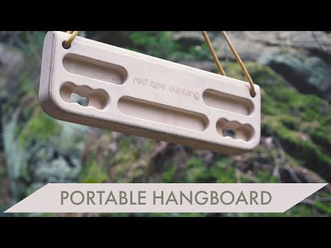 An Affordable Portable Hangboard?! The Piff Board from Red Ape Climbing - Review