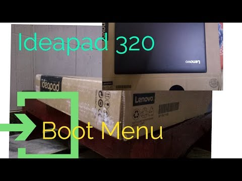 How To Enter Into Bios Setup on Lenovo Ideapad 320 | Boot Menu|