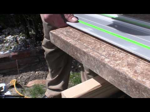Laminate Cuts with  a Track saw