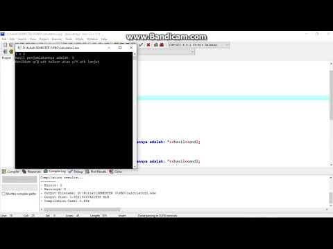 How to make Simple Calculator application with C++