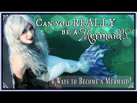 HOW TO BE A REAL MERMAID: 4 Ways YOU can Become a Real Mermaid without a Magic Spell ♥ REALLY WORKS!