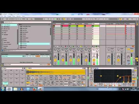 Ableton Deep/Tech Drum Groove Walkthrough