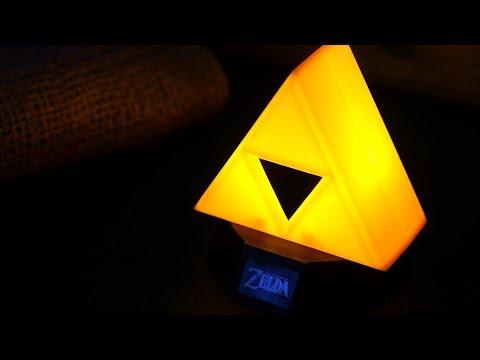 The Legend of Zelda Triforce Icon Light | Paladone