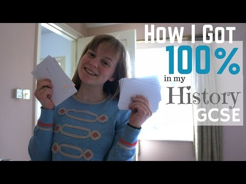 History Study Tips || How I got 100% A* at GCSE