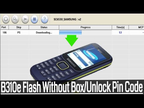 Samsung SM-B310E Flash Without Box/Remove Pin Code