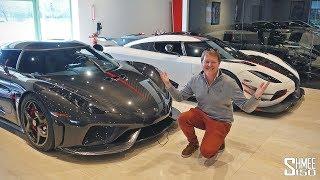 THESE are the Rarest Koenigseggs in the USA!