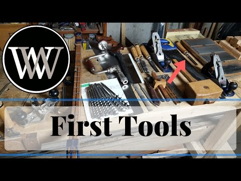 Basic Tools For a Hand Tool Woodworking Shop - Starter Tool Set for the workshop