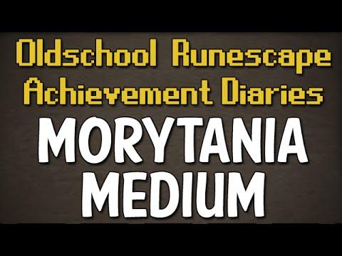 Morytania Medium Achievement Diary Guide | Oldschool Runescape