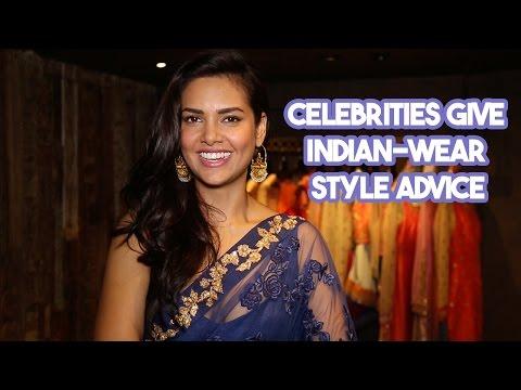 Xxx Mp4 Esha Gupta Manasi Scott More Celebrities Give Indian Wear Style Advice 3gp Sex