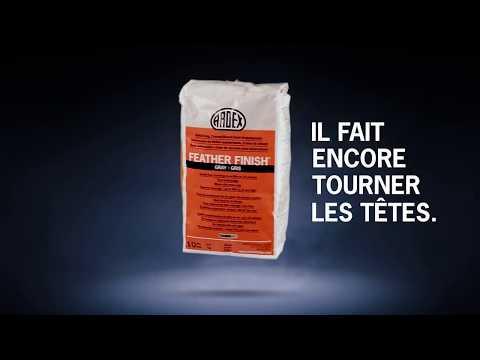 Campagne de l'ARDEX Feather Finish « Il fait encore tourner les têtes  » - Publicité de 25 secondes