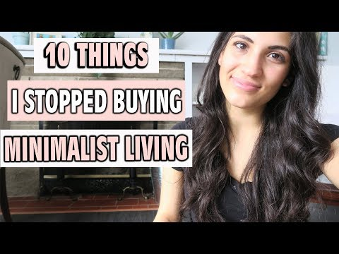 MINIMALISM: 10 THINGS I STOPPED BUYING | SAHM OF 3