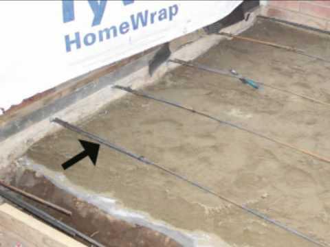 How To Lap Concrete Foundation Rebar - Home Building