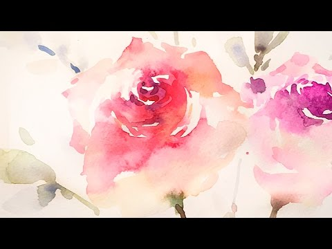 [LVL5] Wet on wet Watercolor Painting Technique