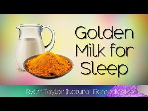 Golden Milk: for Sleep (Turmeric, Coconut & More)