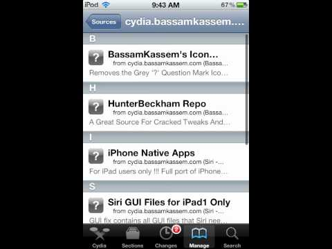 How To Install Ac!d Siri on iPod Touch 4th Generation