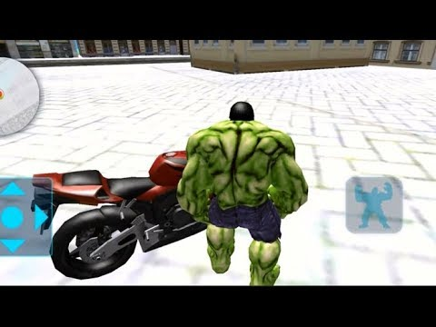 ►Incredible Big Man Monster Hulk Fighting Android HD Gameplay