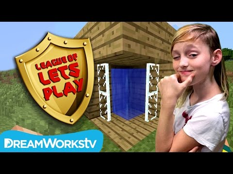 How to Build a Shower in Minecraft with Millie from GameKids | LEAGUE OF LET'S PLAY