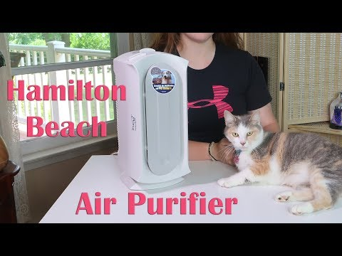 🍀Hamilton Beach AIR PURIFIER (04384) Specialized Pet Air Cleaner - HEPA & CARBON FILTER REVIEW 👈