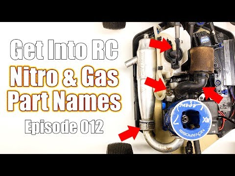 Know The Names Of Nitro & Gas Parts - Get Into RC | RC Driver