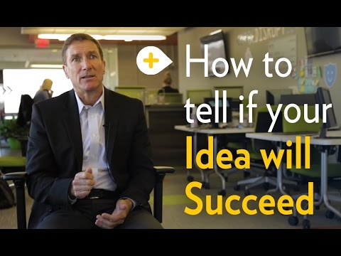 Will your idea succeed?  |  Michigan Ross School of Business