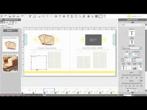 How to Create a Recipe Book Using My Digital Studio