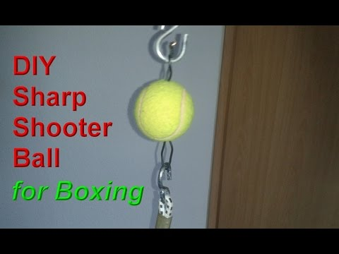 DIY Sharp shooter Double End Ball / Bag -  Do it yourself equipment for boxing training at home