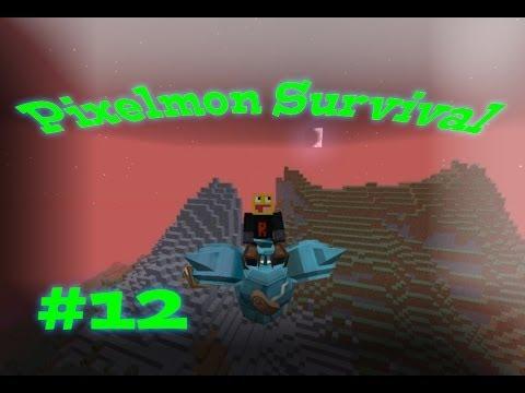Magmortar Magnezone and Scizor! Pixelmon Survival Season 2! #12